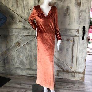 Vintage Patti Cappalli California maxi dress